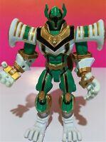 2006 Bandai Power Rangers Mystic Green Ranger Lion Ages Loose