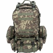 Heavy-Duty 4 Piece Tactical Backpack Set, Mens Outdoor Camp Hike MOLLE Rucksack