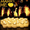24PCS LED Tea Light Candles Battery Flameless Dating Wedding Decoration