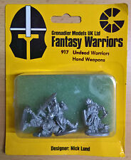Grenadier Fantasy Warriors - 917 Undead Warriors, Hand Weapons (MIB)