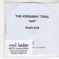 (FL382) The Kissaway Trail, SDP - 2010 DJ CD