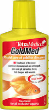 NEW Tetra Medica GoldMed 100ml Goldfish Medication Coldwater Fish