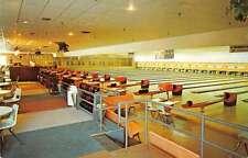 North Reading Massachusetts inside Pleasure Lanes-Snack Bar vintage pc Y15186
