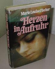 Marie Louise Fischer Herzen in Aufruhr Buch Roman in deutsch 1977