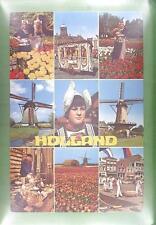 CPA Holland Folk Folklore Tracht Windmill Moulin a Vent Windmühle Wiatrak w1