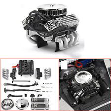 GRC V8 Simulate Engine Motor Cooling Fan for 1/10 RC Crawle TRX4 SCX10 RC4WD D90