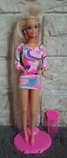 Barbie Blondr TOTALLY HAIR Mattel 1991 Vintage anni 90