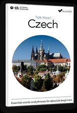 Eurotalk Talk Now Czech for Beginners - Download option and CD ROM