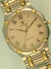 Concord Saratoga 18K and Stainless Steel Mens Watch
