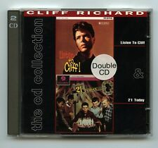 Rock 'n Roll Double CD - Cliff Richard - Listen To Cliff / 21 Today- EMI- Import