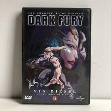 The Chronocles Of Riddick 'Dark Fury' Anime DVD NL Subs Dutch