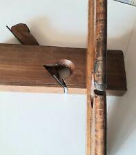 2 pialletti a mano in legno per profili piani e concavi