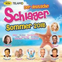 DER DEUTSCHE SCHLAGER SOMMER 2018 Ross Antony, Maite Kelly  3 CD NEU
