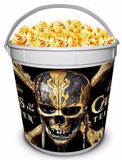 Pirates of the Caribbean 2017 Movie Theater Exclusive 170 Plastic Popcorn Tub