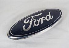 """FORD 9"""" GRILLE EMBLEM F150 EXPEDITION RANGER OEM BLUE OVAL BADGE logo symbol"""