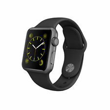 Apple Watch Sport 38mm Space Gray Aluminium Case Black - (MJ2X2B/A)