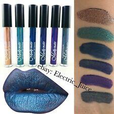 LG1823 6 Pieces Kleancolor Madly Matte Metallic Liquid Lipstick Set