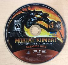 Mortal Kombat -- Complete Edition (Sony PlayStation 3, 2012) DISC ONLY 6393