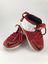 Child Toddler Lebron James Nike Red And White Sneakers Tennis Shoes
