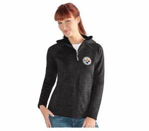 G-III 4her Pittsburgh Steelers Women's Kick Off Full Zip Jacket - Black