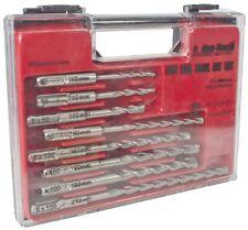 8pc SDS Drill Bit Set - Masonry 8 Case Plus Storagepc Professional Fits Amtech