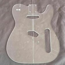 New electric guitar Transparent Acrylic Template Guitar Making Assembly Mold