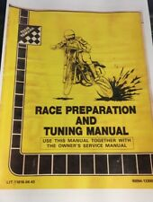 It YZ 125 250 Race Preparation and Tuning Manual 1980's Paper Bound Copy NOS