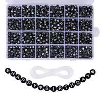 1200Stücke Kinder pädagogische DIY Schmuck Zubehör Perlen bunte DIY perlen Schmu
