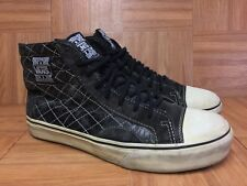 RARE🔥 VANS Sk8-Hi Native American Binding LX Leather Sz 9 Men's Shoes Vintage