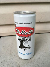Vintage Garage Find 16 oz Beer Can Ortlieb's Philadelphia Street Scene Lot M04