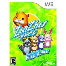 Zhu Zhu Pets Wild Bunch For Wii Brand New 5E