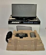 Bose SoundDock Series II Portable Digital Music System w/ box, power,remote
