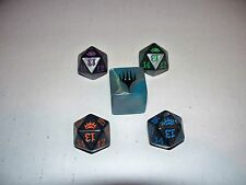 MTG Magic Planechase Anthology Dice Set 1 Large Planar Die 4 Spindown 20-sided