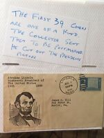 Collection of 127 First Day Covers of Presidents
