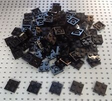 Lego Black 2x2 Plate (3022) x25 in a set *BRAND NEW* Space City Star Wars