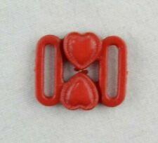 Bikini-cierre rojo 10 mm