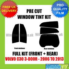 VOLVO C30 3-DOOR 2006-2013 FULL PRE CUT WINDOW TINT