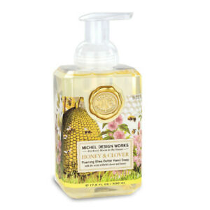 Honey and Clover Foaming Hand Soap by Michel Design Works