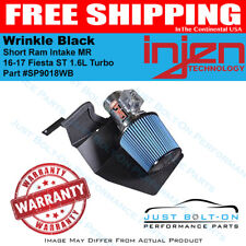 Injen for 16-17 Fiesta ST 1.6L Turbo Wrinkle Black Short Ram Intake MR SP9018WB
