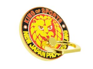Official NJPW/New Japan Pro Wrestling Lion Mark Smartphone Ring