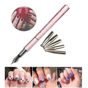 1PCS Nail Art Gel Design Painting Pen Kit Set for DIY Salon Manicure Tools