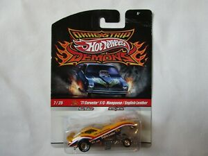 Hot Wheels Drag Strip Demons ENGLISH LEATHER Mongoose Duster Funny Car Top Fuel