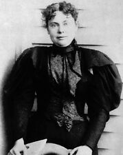 New 8x10 Photo: Lizzie Borden, Massachusetts Socialite and Accused Murderer