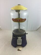 Vintage Northwestern Try Some 1 One Cent Gumball Peanut Vending Machine