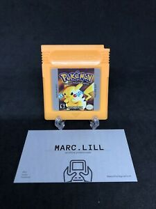 Pokemon Giallo BATTERIA OK Inglese x Gameboy Nintendo Game Boy Classic Repro ENG