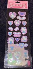 Rare Vintage Sanrio Original 1997 Hello Kitty Stickers Sticker Sheet NEW 90s