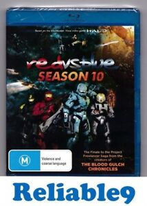 Red vs blue Season 10 Bluray+Bonus features Sealed - 2012 Made in Australia