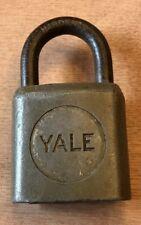 Vintage Yale Lock Without Keys