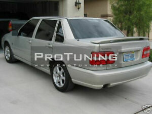 R-Style Rear Trunk Spoiler Wing For Volvo S70 1996-2000