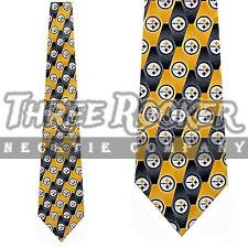 Pittsburgh Steelers Ties Mens Steelers Necktie Licensed Neck Tie NWT
